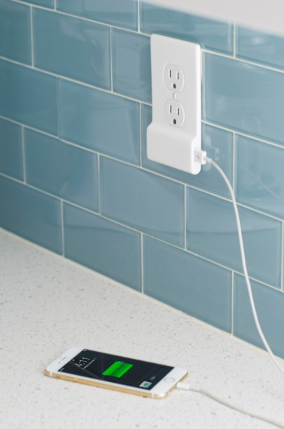 Crave giveaway SnapPower Charger USB-equipped power outlet cover
