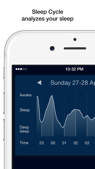 Free iOS Health & Fitness App: Sleep Cycle alarm clock By