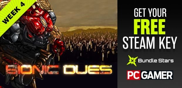 Grab a free Steam key for tactical mech game Bionic Dues at PC Gamer