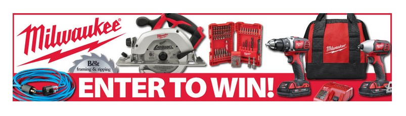 Milwaukee Tools and Accessories Giveaway