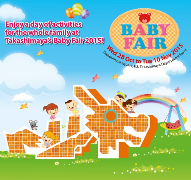 WIN yourself one of five $50 Takashimaya Baby Fair 2015 Vouchers at Motherhood Magazine Singapore
