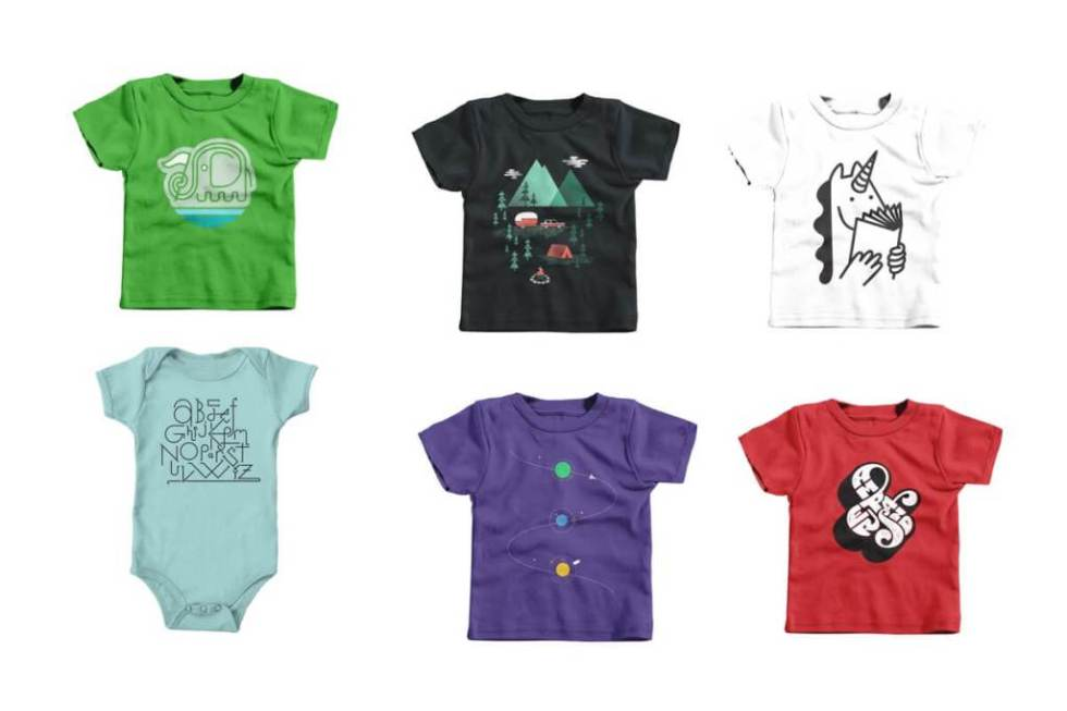 Win $100 of the Raddest Kid's T-Shirts from Cotton Bureau at Parent Co