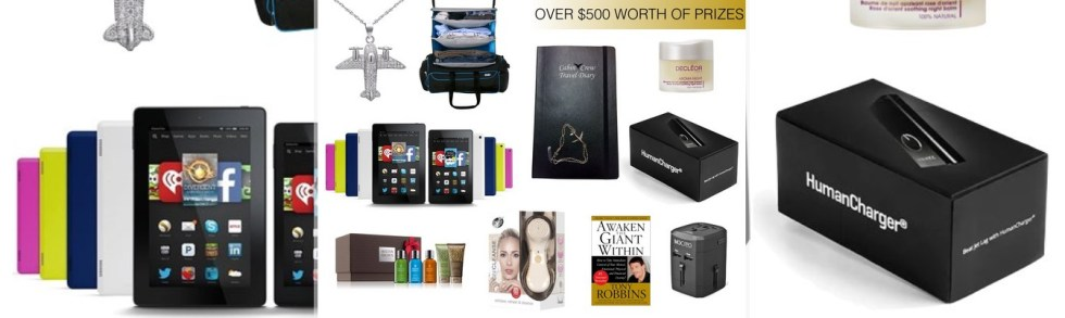 Win Cabin Crew Travel Diary Xmas Bundle - $500 Worth of Prizes