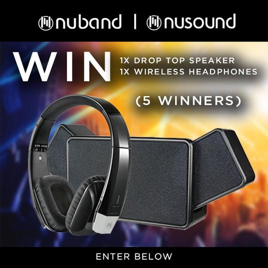 Win Nuband speaker and headphones