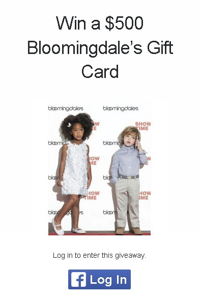Win a $500 Bloomingdale's Gift Card at 33rd Republic