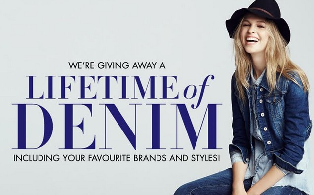 Win a Lifetime of Denim at Jean Machine