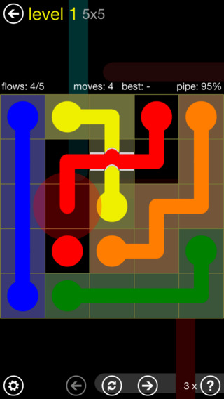 FREE iOS Game Flow Free Bridges By Big Duck Games LLC