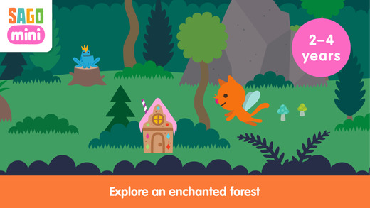 Free iOS Education App Sago Mini Fairy Tales By Sago Sago