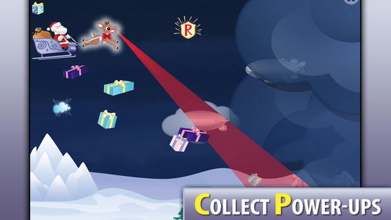 Free iOS Game Rudolph Run! By Oceanhouse Media