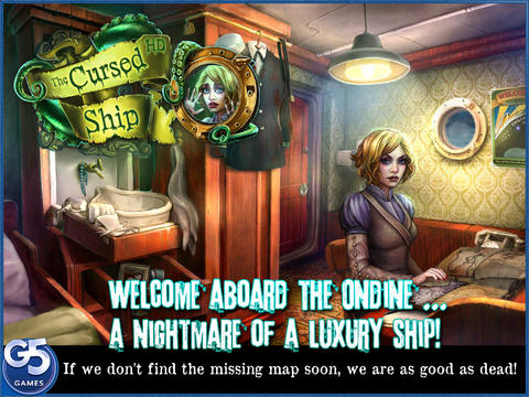 Free iOS Game The Cursed Ship, Collector's Edition HD (Full) By G5 Entertainment