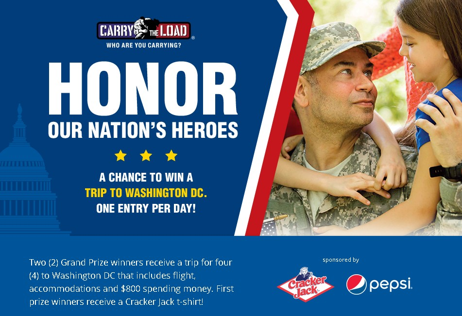 Honor Our Nation's Heros at Carry The Load