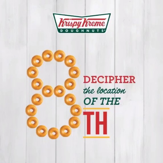 Krispy Kreme Singapore Guess the 8th Contest
