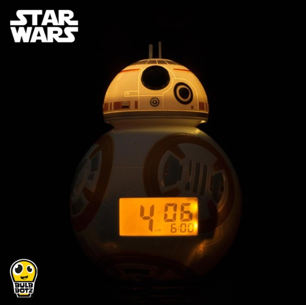 WIN Bulbbotz BB-8 light up alarm clock at Newstead Technologies
