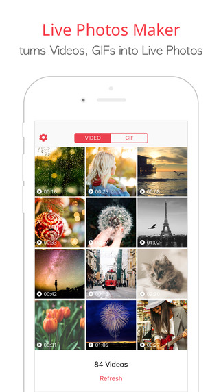 FREE  intoLive - turns your videos & gifs into Live Photos By Minkyoung Kim
