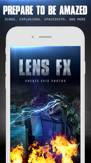 Free @ iTunes LensFX Epic Photo Effects By BrainFeverMedia