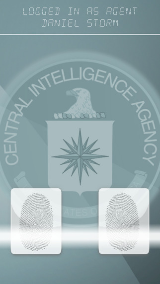 Free Entertainment App at iTunes CIA Finger Scanner - Prank Your Friends