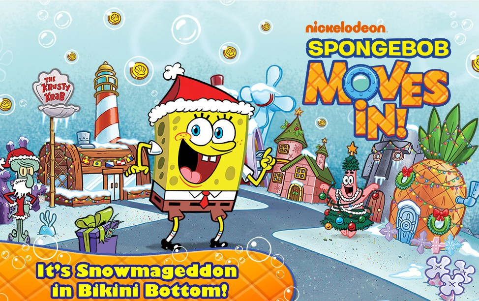 Free Game at Amazon SpongeBob Moves In
