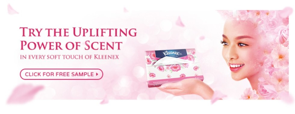 Free Kleenex Sample!