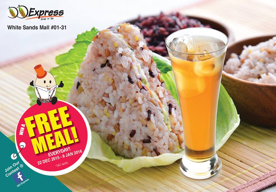 Free Meal Set at QQ Express