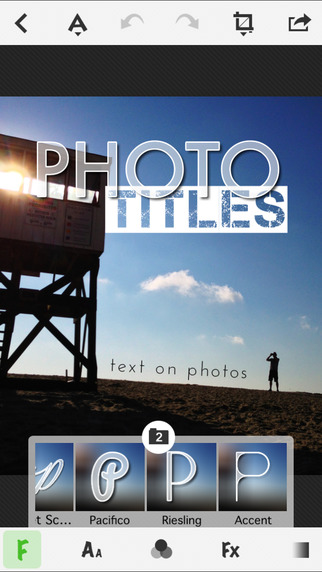 Free Photo & Video App TitleFx - Write on Pictures, add Text Captions to Photos By East Coast Pixels, Inc.