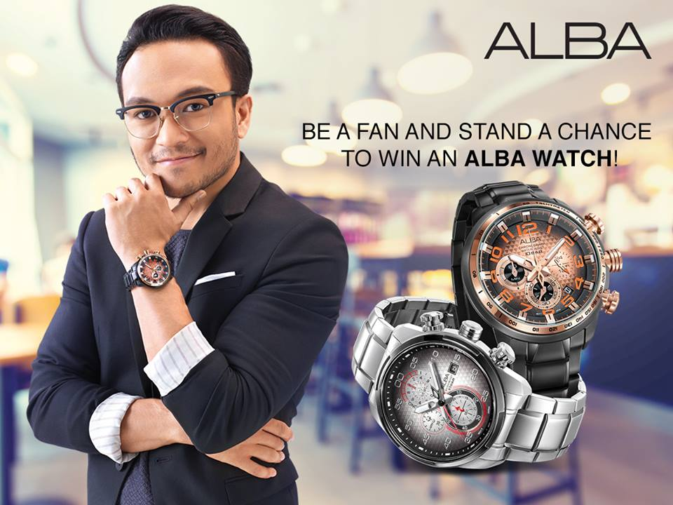 Stand a chance to win an Alba timepiece from the latest FallWinter collection!