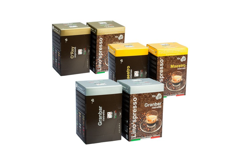 Try a Free Sample at Lino'spresso