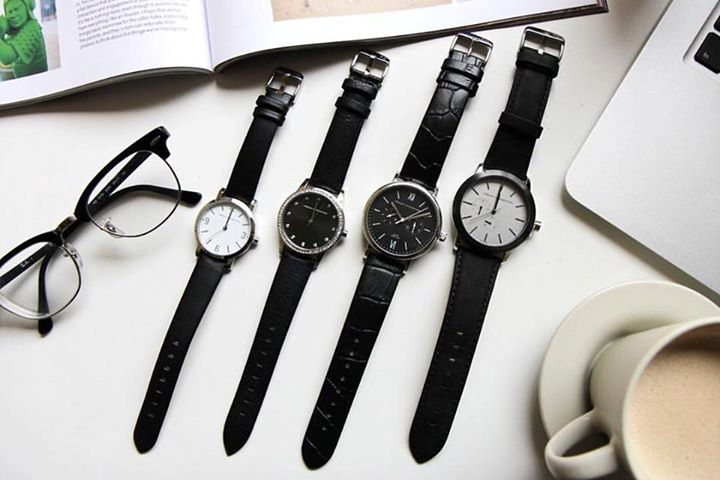 WIN French Connection watches at Nylon Singapore