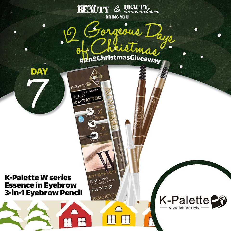 WIN K-Palette W series Essence in Eyebrow 3-in-1 Eyebrow Pencil at Aesthetics & Beauty