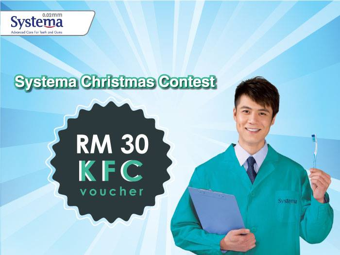 WIN RM 30 KFC Vouchers at Keep Smiling Malaysia