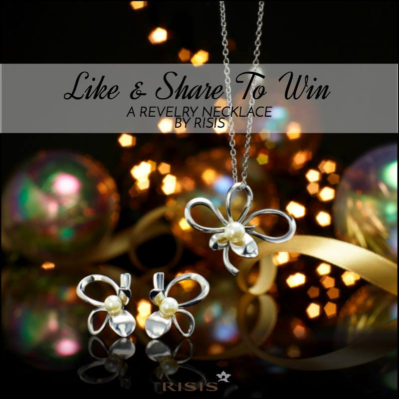 Win a piece of jewellery from RISIS Christmas collection