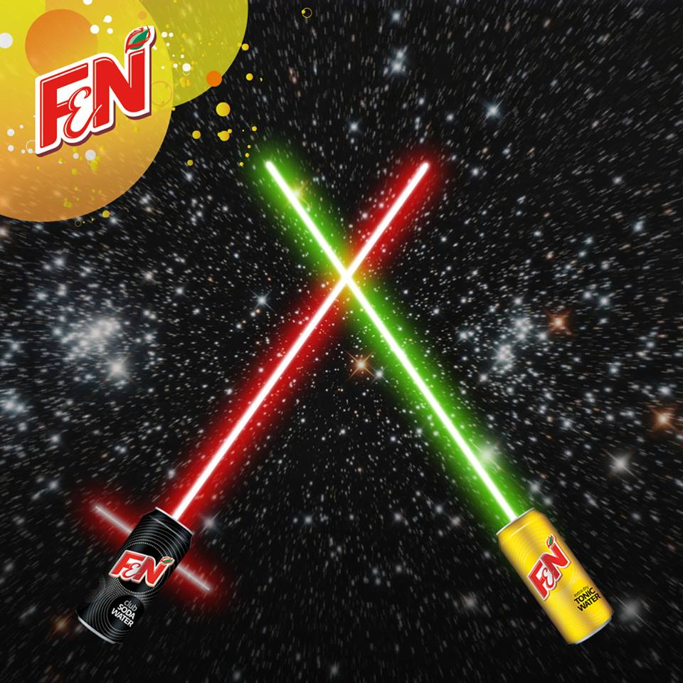 Win limited edition F&N packs