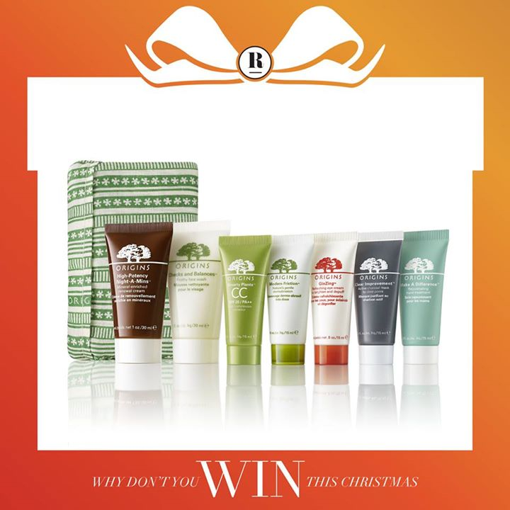 Win this Origins Superstar Minis Christmas Set at Robinsons Singapore