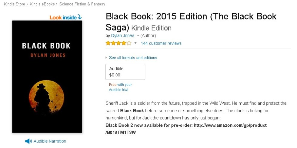 Free Black Book 2015 Edition (The Black Book Saga) Kindle Edition at Amazon