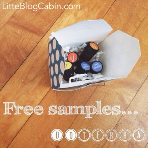 Free Essential Oil Samples at Little Blog Cabin