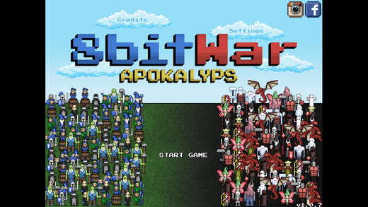 Free iOS Game 8bitWar- Apokalyps