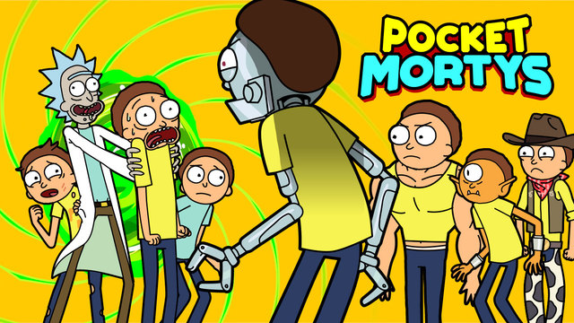 Free iOS Game App Pocket Mortys By [adult swim]