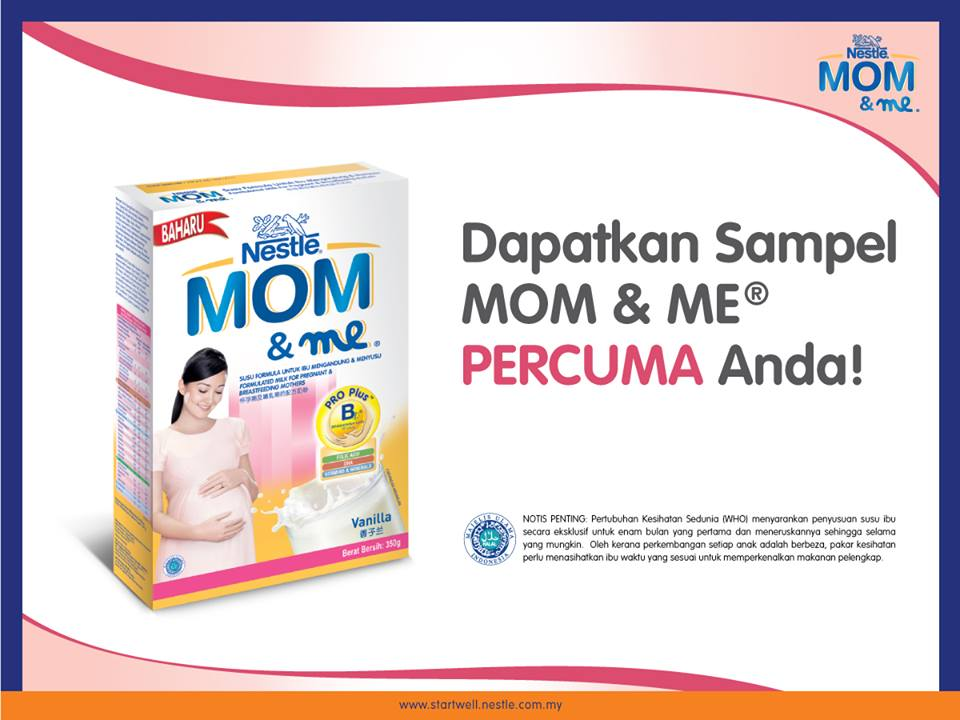 Malaysia Nestle Mom & Me Sample Giveaway