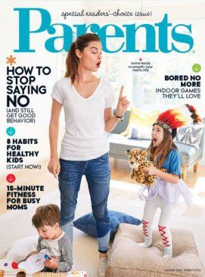 Sign up here for a complimentary one year subscription to Parents