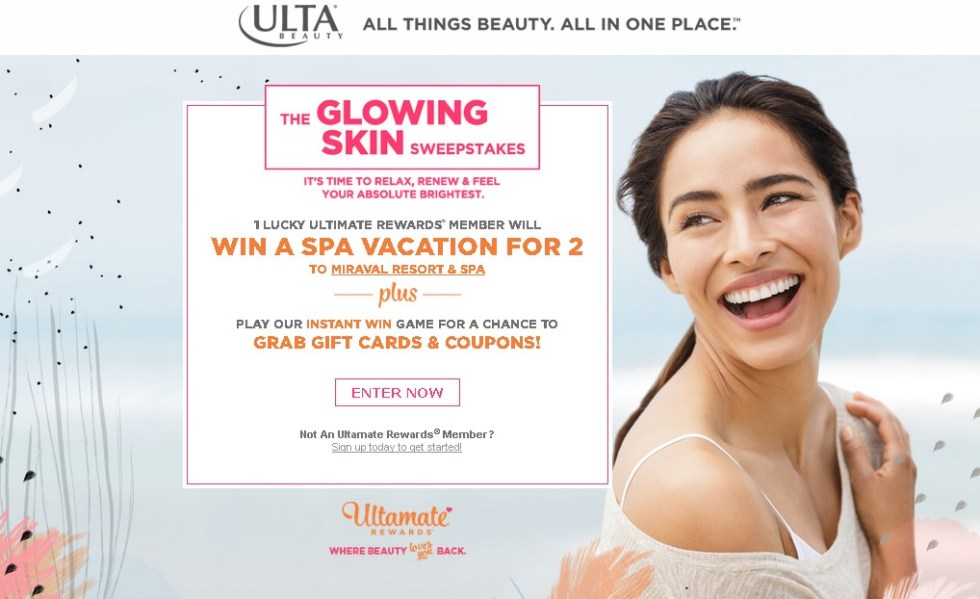 WIN A SPA VACATION FOR 2 AT ULTRA BEAUTY
