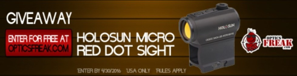 WIN HOLOSUN Micro Red Dot Sight