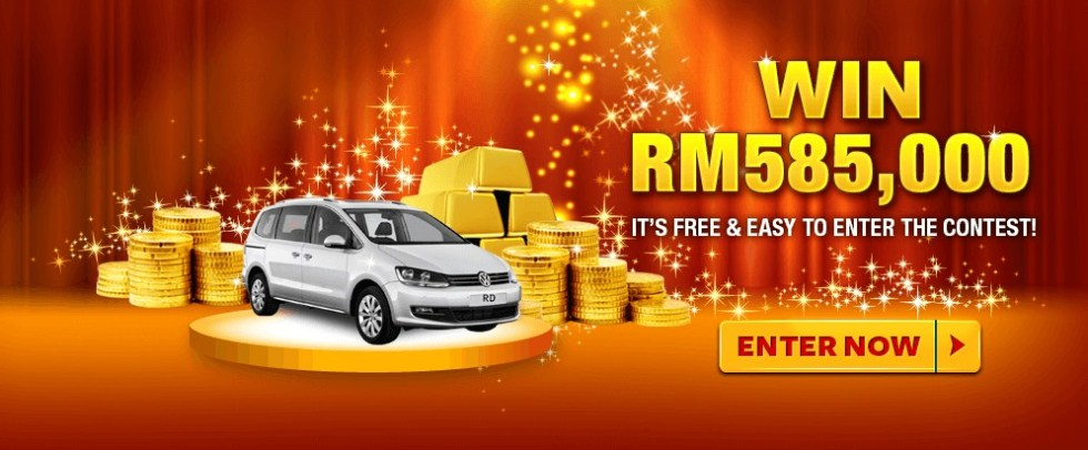 Win RM585,00 at Reader's Digest Malaysia