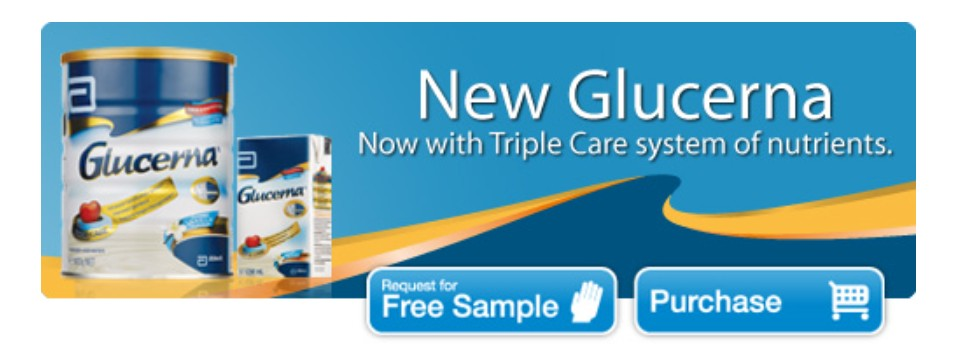 FREE Glucerna® Triple Care™at Abbott Family Singapore