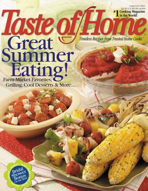 FREE one-year subscription to Taste of Home at Freebizmag