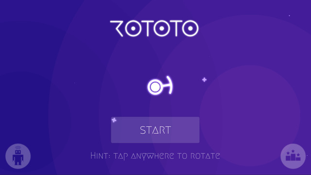 Free iOS Game- Rototo Space Survival