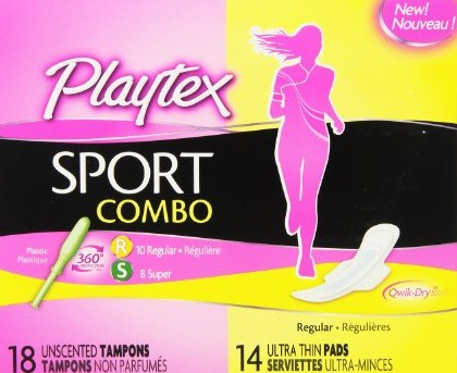 GET YOUR FREE SAMPLE NEW! Playtex® Sport® Pads, Liners and Combo Packs