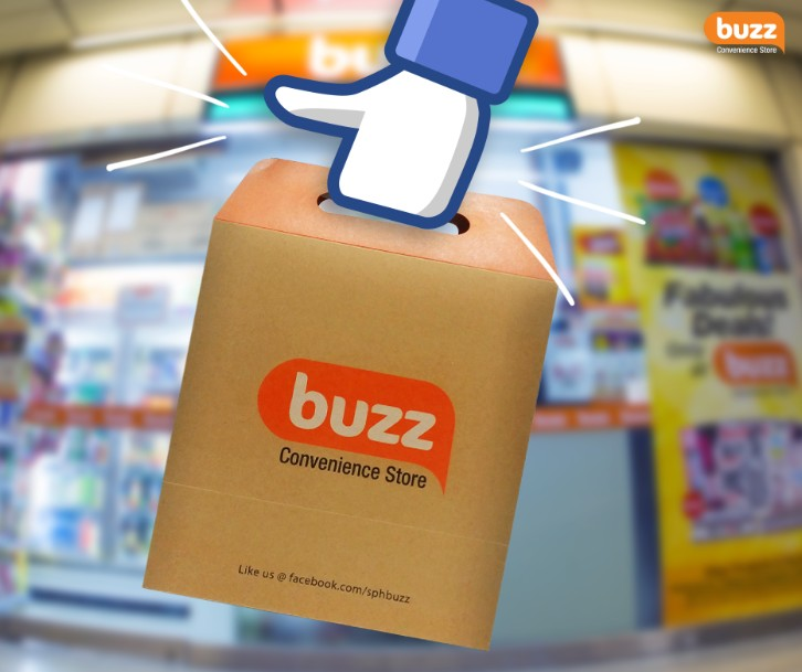 Get a special bag filled with Buzz Convenience Store treats worth $50