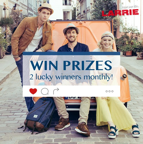#LARRIE Instagram Snap & Win Contest