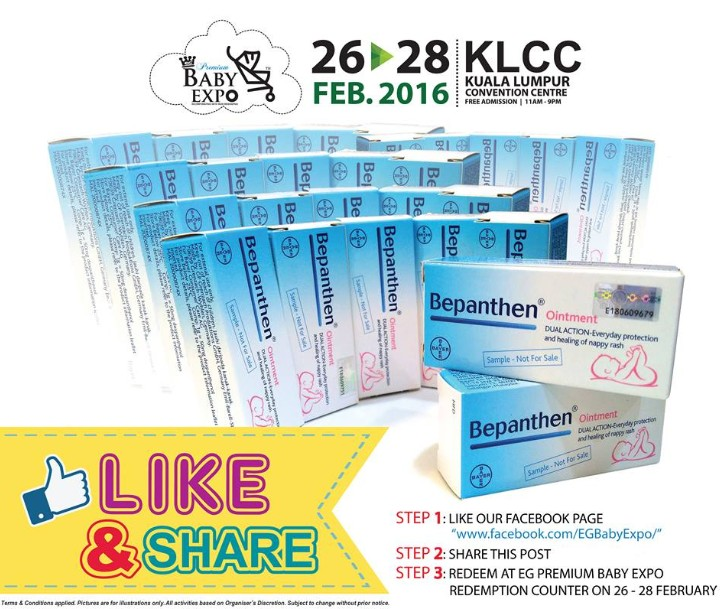 Like, Share & Get your GIFT at EG' Mother, Baby & Kids Expo