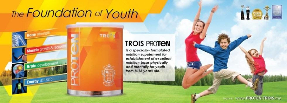 Redeem your free sample at Trois Proten Malaysia