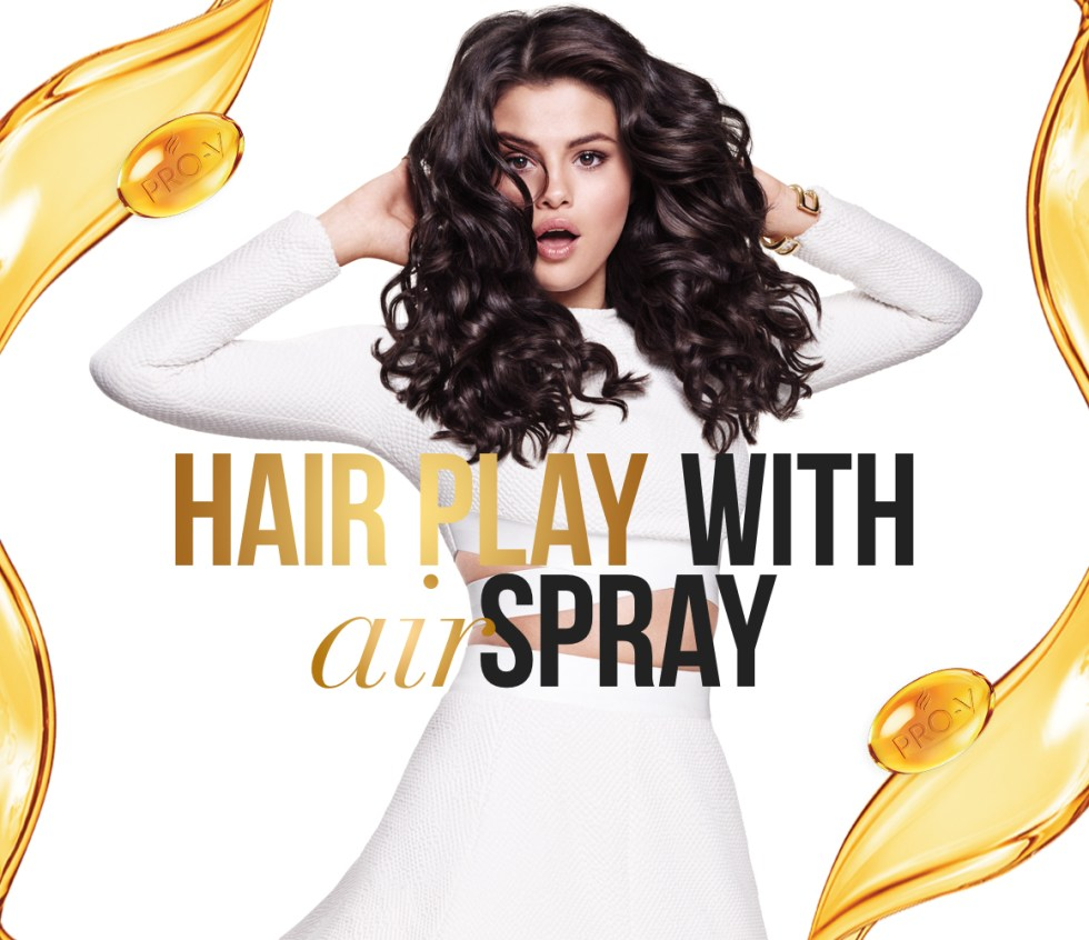 Request a sample of Pantene's all new Airspray before it hits shelves